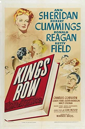 Amazon.com: Kings Row POSTER Movie (27 x 40 Inches - 69cm x 102cm) (1942):  Posters & Prints