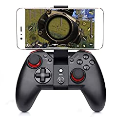Color:Black Momen Standard Android Smartphone Game Controller, support for thousands of Android and PC games, ensure a gamer's must have!Specification Product name: Wireless game controller (X100) Configuration instruction: controller+1m char...
