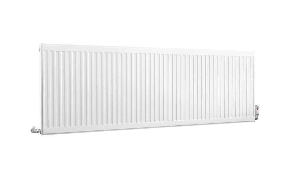 HB Essentials Compact Type 11 Single Panel Single Convector Radiator 600mm x 400mm White