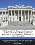 Crs Report for Congress, Nancy Lee Jones, 1294255592
