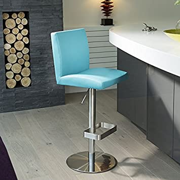 Amazon De Luxus Blau Theke Bar Kuche Hocker Sitz Hocker 2914b