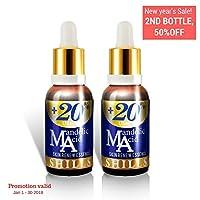 Vitamin E Mandelic Acid Serum Remove Acne Wrinkle Anti Aging Brightening Face Bottle 30ml