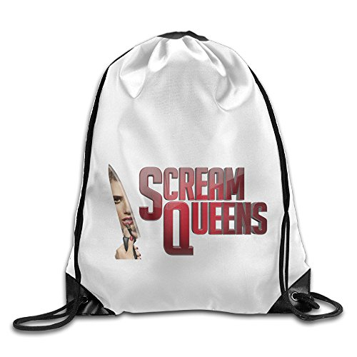 Hester Scream Queens Costume - Bekey Scream Queens Gym Drawstring Backpack Bags For Men & Women For Home Travel Storage Use Gym Traveling Shopping Sport Yoga Running