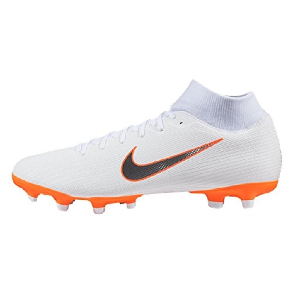 Nike Mercurial Superfly Vi Academy MG, Zapatillas de Fútbol para Hombre 40 EU|Blanco (White/Chrome-total O 107)