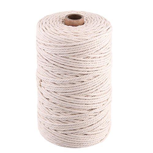 DyNamic 2-5mm Corda Di Di Di Cotone Twisted Cavo Artigianale Macrame Rope Decor Filo Intrecciato A Mano -  4 | Imballaggio elegante e stabile  | Della Qualità  | Tatto Comodo  4a2a08