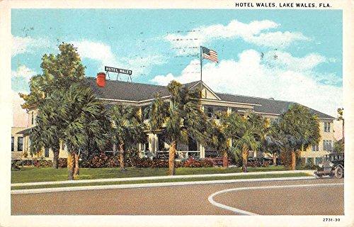 Lake Wales Florida Hotel Entrance Street View Antique Postcard ()