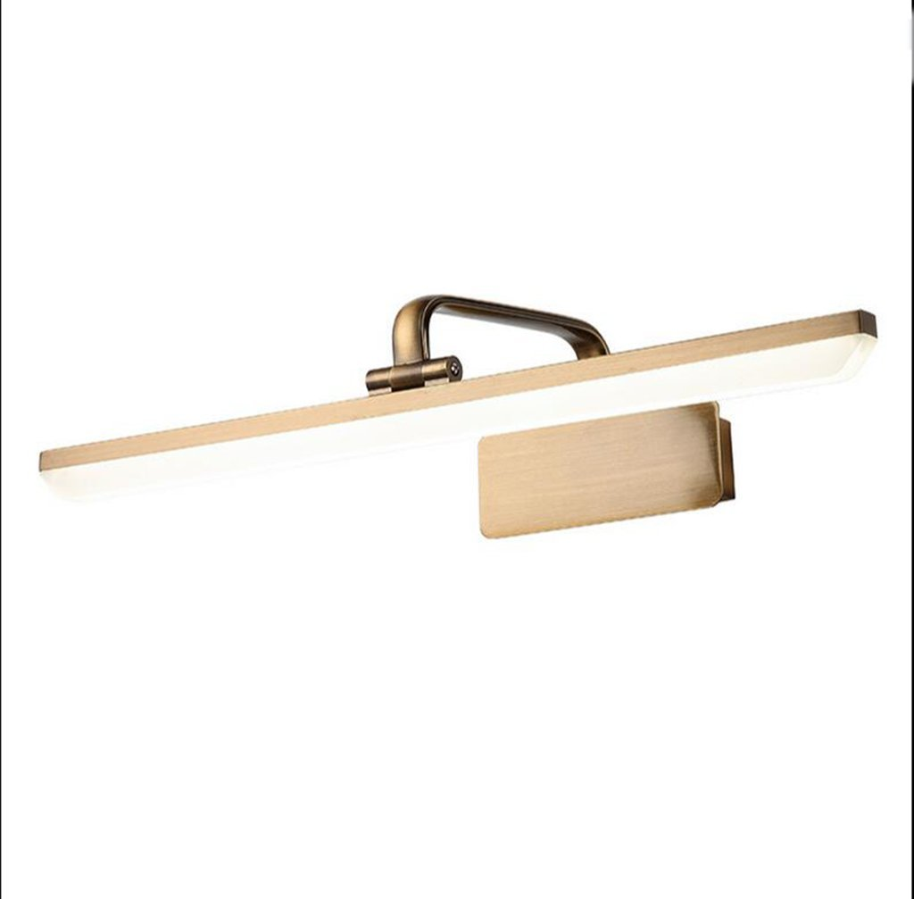 Fenciayao 防水フォグランプLEDミラー現代のミニマリストLEDウォールランプアクリルバスルームトイレトイレライトバスルームアクセサリー (Color : 白, サイズ : 9w/43cm) 9w/43cm 白 B07QLFV4XW