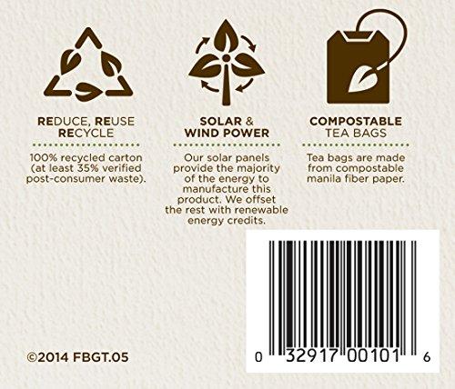 Traditional Medicinals Organic Green Tea Lemongrass Tea, 16 Tea Bags (Pack of 6)