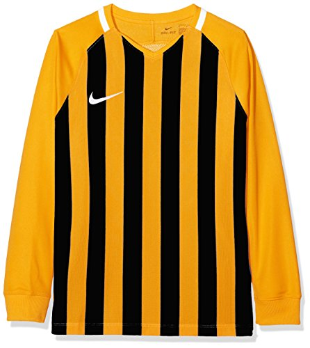 Youth University Striped Black Long Gold White Unisex Division Nike III Sleeve White Top 8Ow5qpnxFT