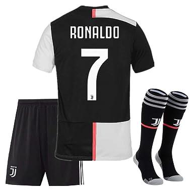 brand new 29a10 f9d76 Amazon.com: 2019/2020 New Juventus #7 Ronaldo #10 Dybala ...