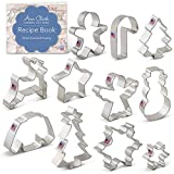 Ann Clark Cookie Cutters Christmas Set 11 Piece Tin Plated Steel