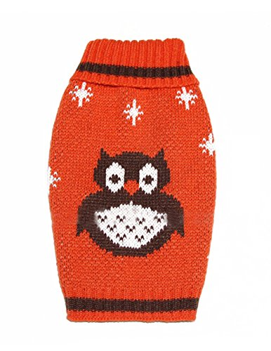 Uniquorn 2016 New European And American Popular Pet Clothing Owl Pattern Pet Sweater Halloween Dog Sweater Pet Supplies