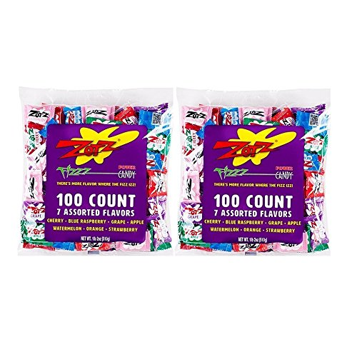 Zotz Fizzy Candy, Assorted Flavors, 200 Count - Fizzy Cherry