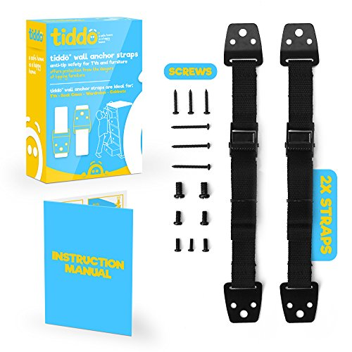 flash-sale-tiddo-anti-tip-safety-wall-anchor-straps-for-tvs-and-furniture-belts-baby-proofing-anti-t