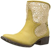 Groove Women's Daisy Boot, Natural, 9 M US
