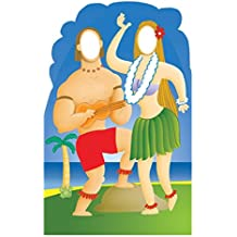 Hawaiians with Ukelele Stand-In - Advanced Graphics Life Size Cardboard Standup