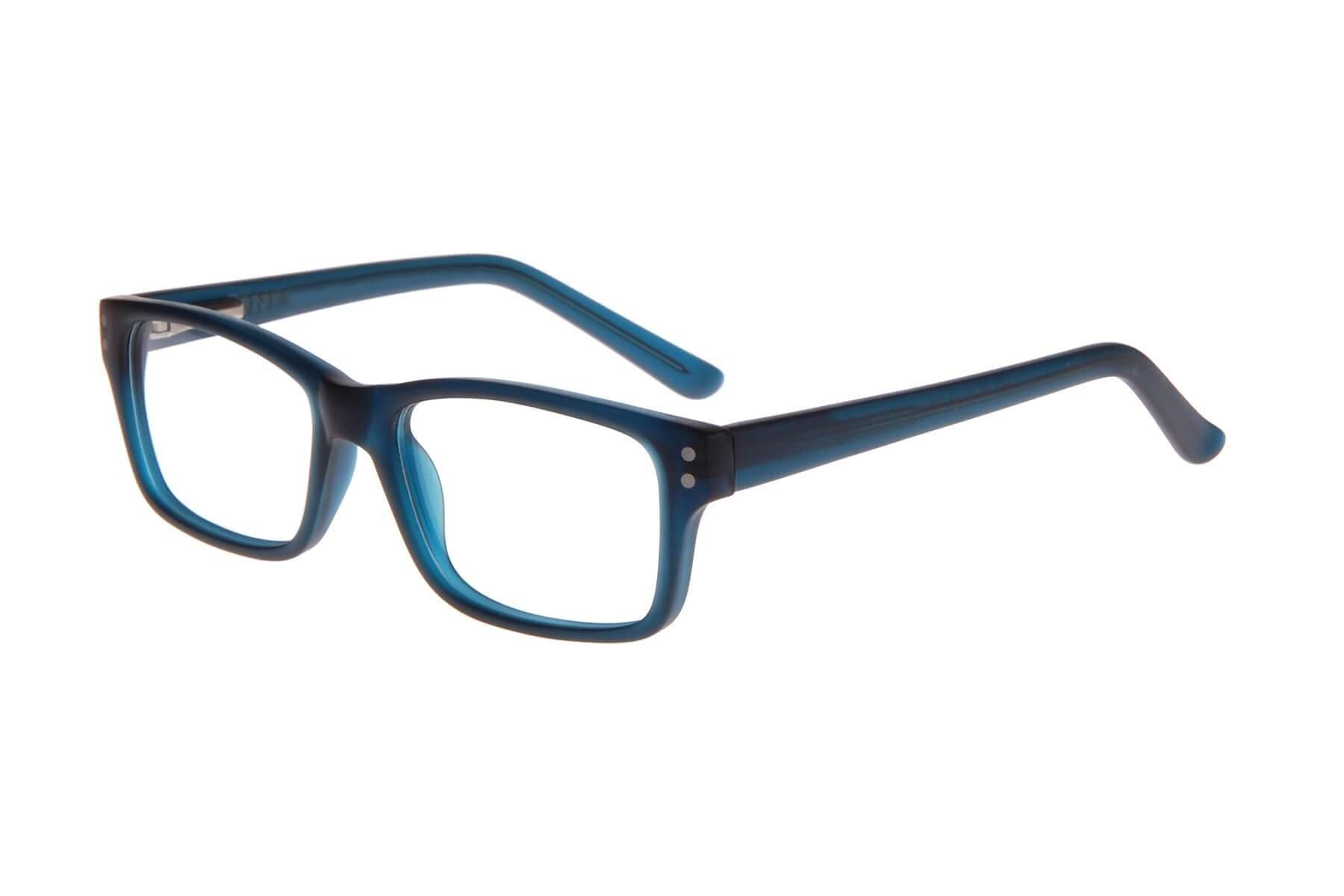 Retro Dark Blue Children's Blue Light Computer Glasses