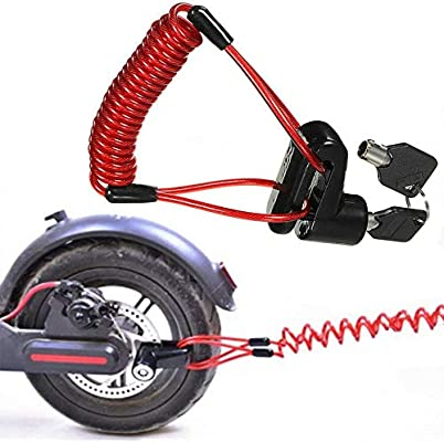Rose GOZAR Electric Scooter Motorcycle Lock O Shape Anti-theft Lock For XIAOMI MIJIA M365 ES2 Scooter