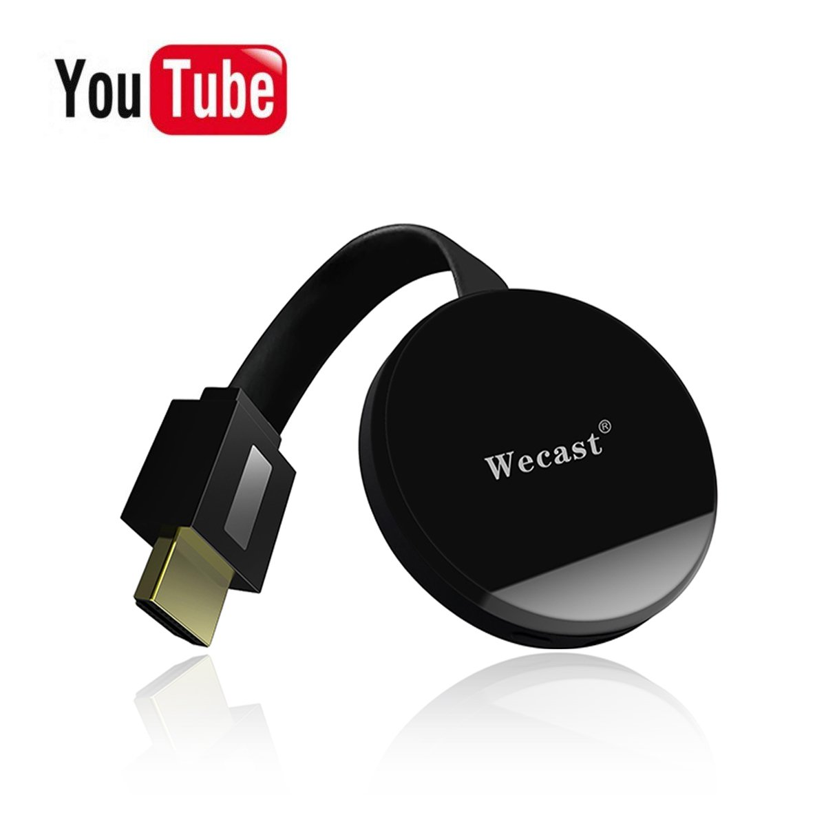 SUMBOAT Wireless 1080P Mini Display Dongle Receiver Sharing HD Video from Projectors Cell Phones Tablet PC Support Airplay DLNA Miracast