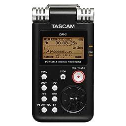 Amazon Tascam ハンディレコーダー 高音質 Dr 1 ポータブルレコーダー 楽器