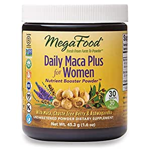 MegaFood - Daily Maca Plus For Women, Promotes Heart Health, 30 ...