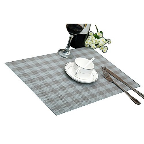 Reversible Placemats Dining Rectangle Checked product image
