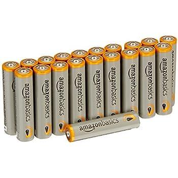 Amazon.com: AmazonBasics AA High-Capacity Rechargeable