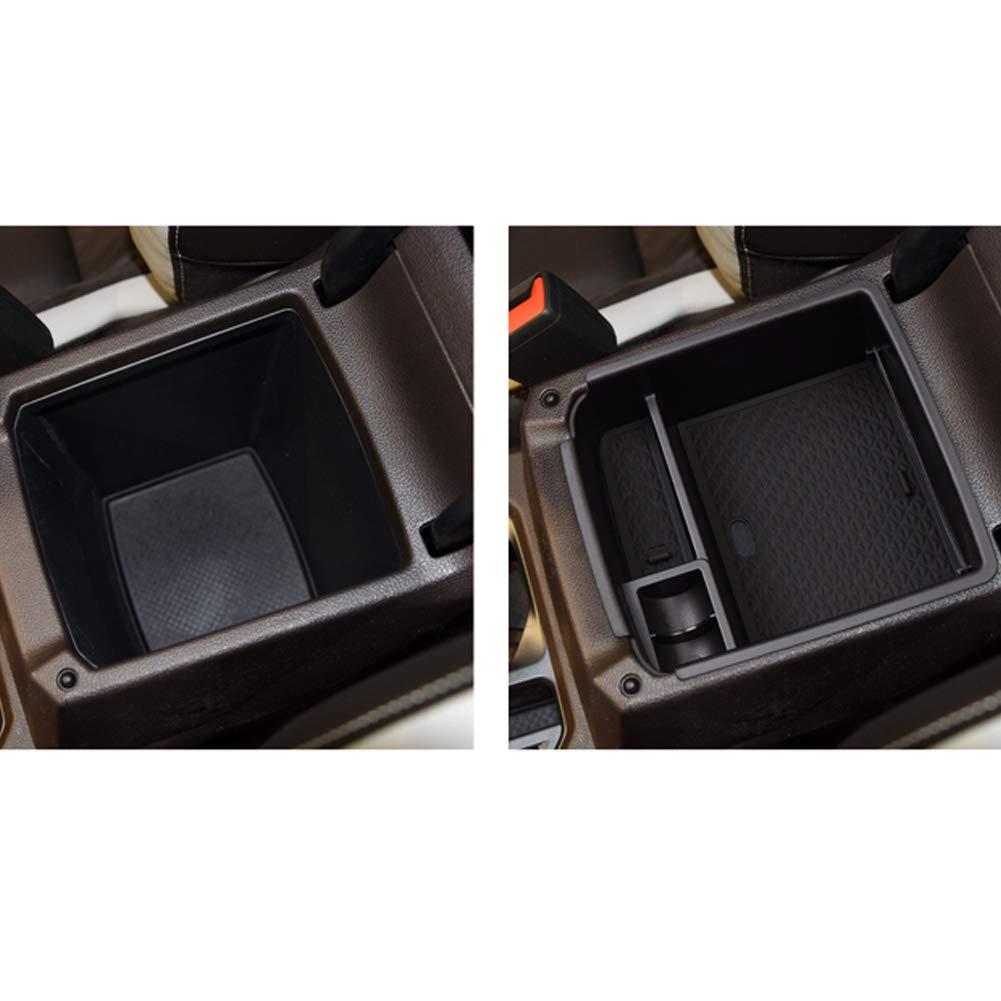 LFOTPP Bracciolo Vano Portaoggetti per Seat Tarraco Scatola di Immagazzinaggio Secondario Organizzatore Braccioli