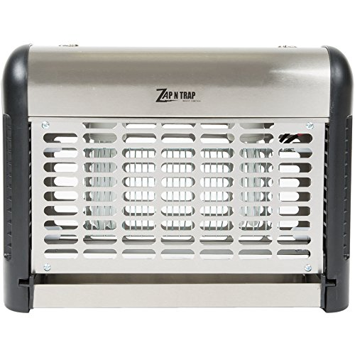 Stainless Steel Insect Trap / Bug Zapper - 2000 Sq. Ft. Coverage, 30W By TableTop King by TableTop King