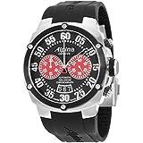 Alpina Avalanche Extreme Black Dial Silicone Strap Men's Watch AL850BR4AE6