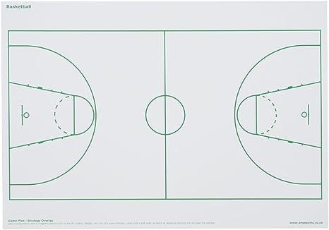 Plan - baloncesto Pitch superposición para uso en tableros ...