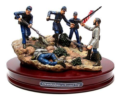 Civil War Figurine (VanMark Chamberlain at Little Round Top Sculpture)