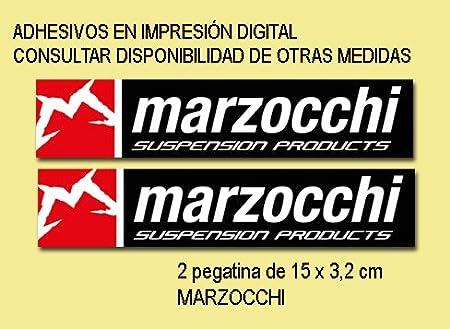 PEGATINAS MARZOCCHI BIKE FD126 STICKERS AUFKLEBER DECALS AUTOCOLLANTS ADESIVI ECOSHIRT ARTICULOS Y VINILOS PERSONALIZADOS