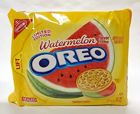 Image result for watermelon oreos