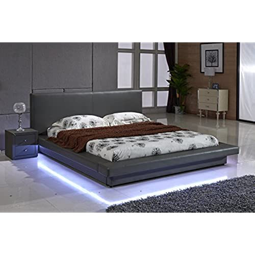 Black Platform Bed California King