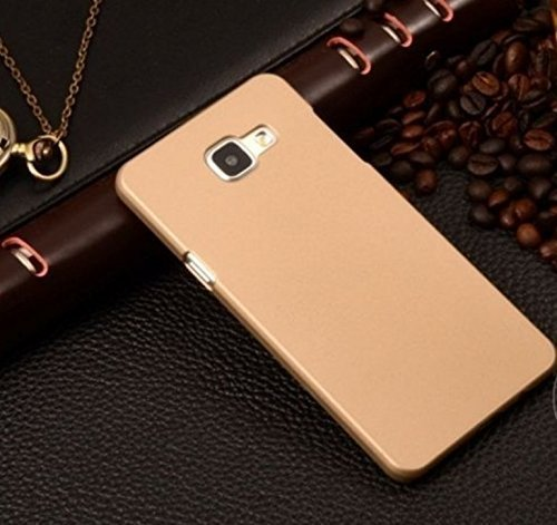 quality design 97848 1ab3c Johra Samsung Galaxy On Nxt (2016) Back Cover, Slim Matte Finish Rubberized  Gold Golden Hard Back Case Cover for Samsung On Nxt Back Cover