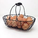 EggBaskets Wire Egg Basket, Egg Gathering Basket
