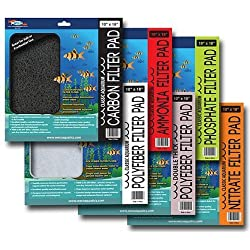 "Weco Aquarium Carbon Filter Pad 10"" x 18"""