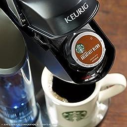 Starbucks Breakfast Blend Keurig Pods, Medium Roast Coffee - (60 Single Serve K-Cups), (Pack of 6)