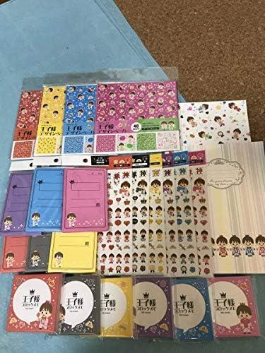 キャンドゥ 王子様シリーズ King & Prince キンプリ メモ、ポチ袋、シール、デザインペーパー、ノート きんぷり SC152