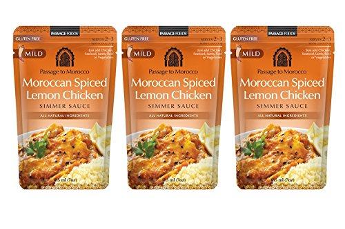 PASSAGE FOODS | Sauce | Lemon Chicken | Gluten Free [ 3 Pack - Chicken Lemon Fry Stir