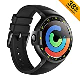 Ticwatch S Smartwatch-Knight 1.4 Inch OLED Display Android Wear 2.0
