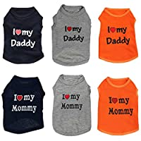PanDaDa Summer Small Pet Dog Apparel Vest Puppy Doggy Cat T-shirt