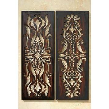 Wanddeko Afrika Wand-Deko Ethno Eisen 82cm: Amazon.de: Küche & Haushalt