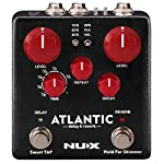 NUX Atlantic Multi Delay and Reverb Effect Pedal with Inside Routing and Secondary Reverb Effects from Cherub Technology Co.,Ltd