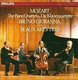Mozart: Piano Quartets /BEAUX ARTS TRIO & GIURANNA