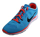 NIKE Free 5.0 TR Fit 5 Womens Blue Lagoon/Black/Bright Crimson Running Sneakers