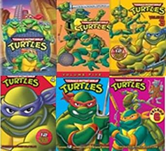 Amazon.com: Teenage Mutant Ninja Turtles Seasons & Volumes 1 ...