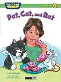 We Read Phonics-Pat, Cat, and Rat, Sindy McKay, 1601153112