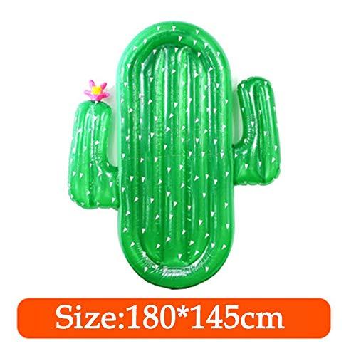 Cactus Pool Float Erwachsene Schwimmring Aufblasbare Ring Boje Riesenschwimmer Frauen Schwimmen Kreis Matratze Floß Sommer Pool Party Wasser Spielzeug (color   blueee cream)